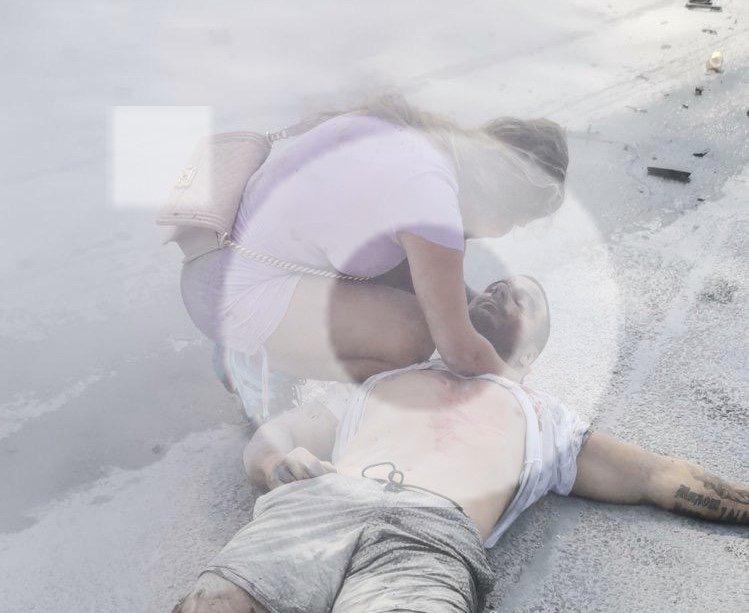 STRAVIČNE slike Strahinje koji umire i Kolumbijke koja vrišti posle eksplozije (UZNEMIRUJUĆE FOTOGRAFIJE)
