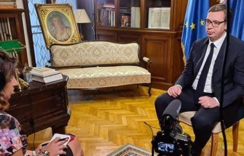 Vučić trenutno daje VAŽAN intervju! Predsednik Srbije je upravo ovo objavio na INSTAGRAMU (FOTO)