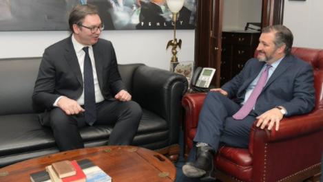 Senator Kruz pozdravio odluku Srbije: Premeštanje ambasade u Jerusalim će produbiti naše veze