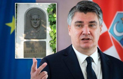BRUKA! Zoran Milanović jezivo IZVREĐAO srpskog heroja: Ove reči iz Zagreba uvreda su za sve u Srbiji