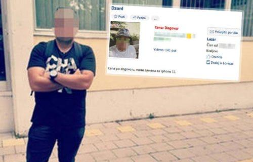 Lazar iz Kraljeva PRODAJE SEBE na internetu! Postavio šok oglas! Za uzvrat traži samo jednu stvar (FOTO)