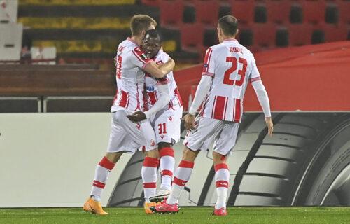 Ovo nikako nije smeo da uradi: Fudbaler Libereca DIGAO PRITISAK navijačima Zvezde i Partizana (FOTO)