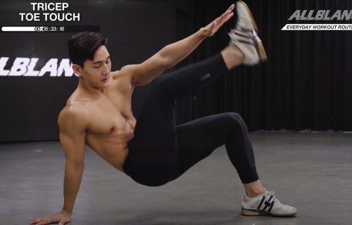 Deluje lako, ali, da li možete da izdržite svih 10 minuta? Probajte novi trening za celo telo (VIDEO)
