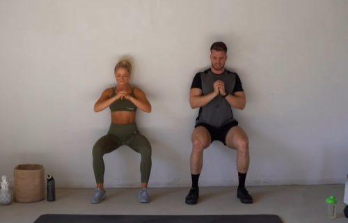 Trening u paru: 30 vežbi za 30 minuta, proverite u kakvoj ste formi (VIDEO)