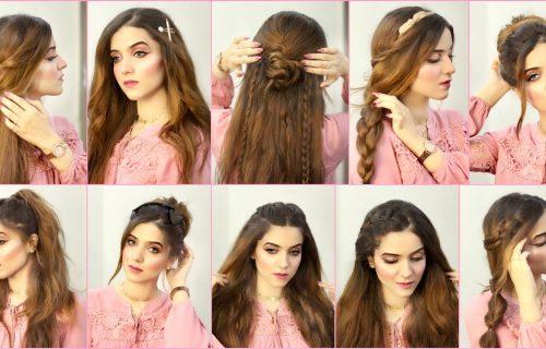 Lako, brzo i elegantno: Za svaku priliku, 11 sjajnih frizura za dugu kosu (VIDEO)