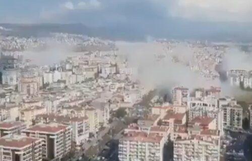 Snažan zemljotres pogodio Mediteran: Turska i Grčka na udaru, ljudi istrčali na ulice, svuda su ruševine