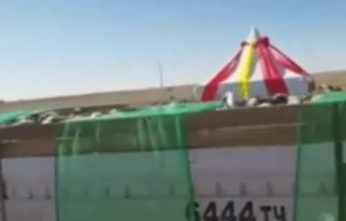 """Šta to stiže Kini iz Mongolije? Sumnjiva """"roba"""" dopremljena kamionima (VIDEO)"""