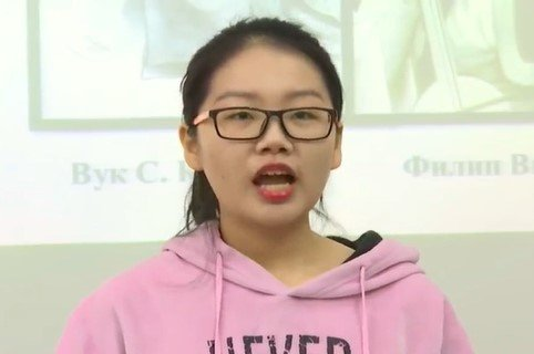 """Oduševila Srbiju: Kineska studentkinja recituje """"Početak bune protiv dahija"""" (VIDEO)"""