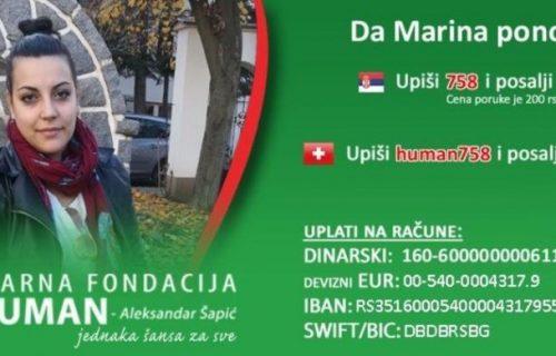Pomozimo lepoj Marini da prohoda: Dečko joj je PUCAO U KIČMU jer ga je ostavila, pred njom je teška borba
