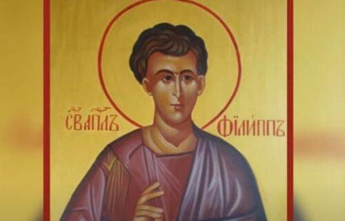 Slavimo Svetog apostola Filipa: Izgovorite OVE reči za oproštaj vaših grehova