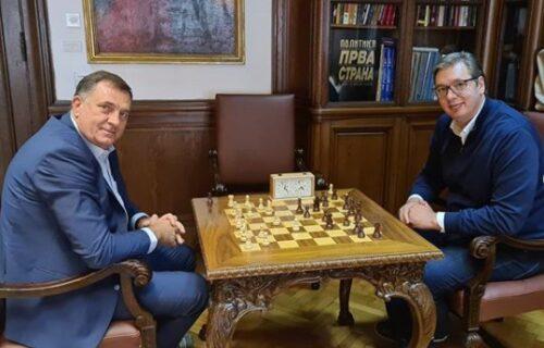 Vučić odmerio snage sa Dodikom! Razgovarali su o važnoj temi, a onda je odigrana BRZOPOTEZNA partija