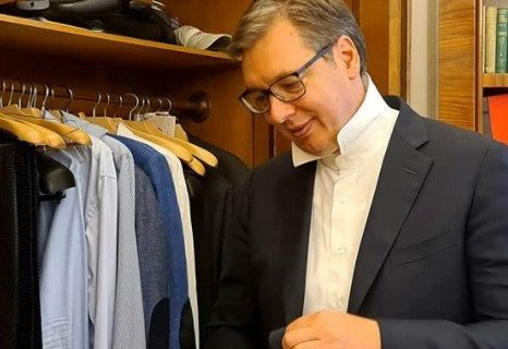 Da li je VUČIĆ upravo najavio VELIKU promenu u svom odevanju? Pogledajte šta je tačno poručio predsednik