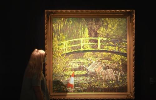 """Fenomen """"Pokaži mi Monea"""": Benksijeva slika prodata za gotovo 10 miliona dolara"""