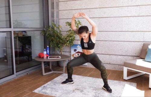 Za zategnute noge i čvrst GLUTEUS: Naučite pravilno da radite ŠIROKE čučnjeve (VIDEO)