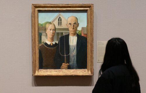 """Tajna """"Američke gotike"""": Znate li ko su muškarac i žena na slici?"""