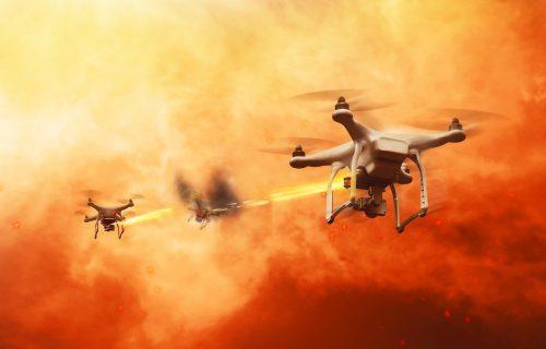 Dronovi sa sačmaricama skeniraju i ELIMINIŠU mete, ovo nije film (FOTO)