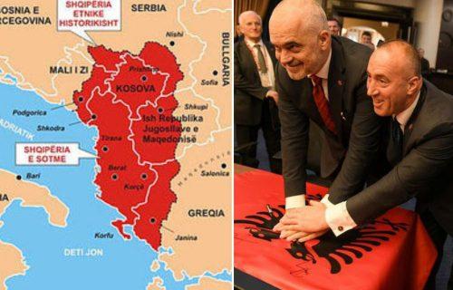 Edi Rama udario najjači šamar Srbiji! Stvara se VELIKA ALBANIJA, lažna država Kosovo dobija izlaz na more