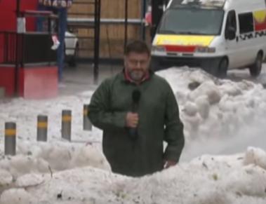 Led OKOVAO Grčku: Prizori kao usred ZIME, pokrenuta i klizišta (VIDEO)