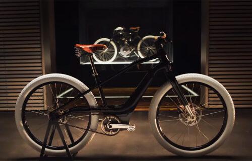 DUH PROŠLOSTI: Harley-Davidson predstavio električni bicikl Serial 1 (VIDEO)