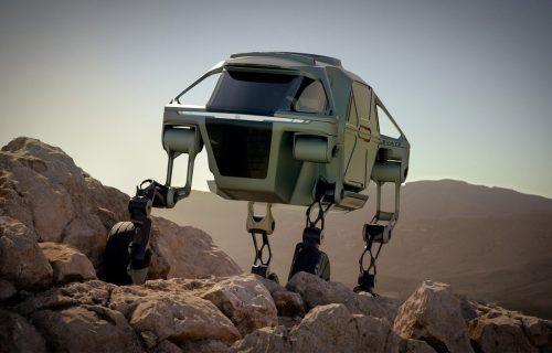 Hyundai Elevate: Automobil koji hoda i preskače zidove (VIDEO)
