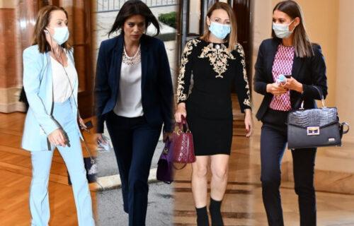 Svi su danas gledali u njih u Skupštini! Pogledajte GALERIJU FOTOGRAFIJA najzgodnijih srpskih političarki