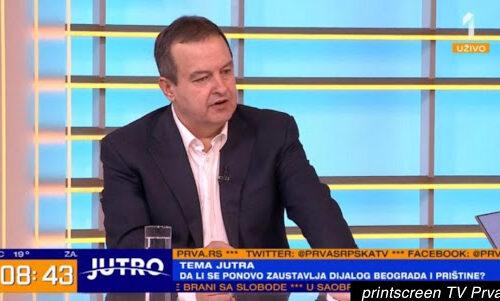 """ŠOK na TV Prva! Dačić TRAŽIO """"ponudu"""" Čukanovića za imena ministara, a onda je rekao ovo o Bajatoviću"""