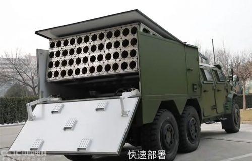 "Brutalno kinesko oružje: Ispaljuje ""rojeve"" dronova punjenih eksplozivom (VIDEO)"