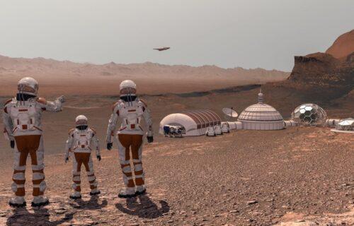 """Ovako će izgledati stanica na Marsu: Raketa Ilona Maska već je """"parkirana"""" (FOTO)"""
