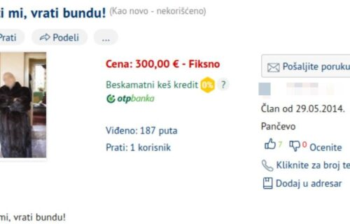 """Ovaj oglas je NASMEJAO SRBIJU: Marko prodaje bundu za """"makroe i ucveljene supruge"""", a ovako ona izgleda"""