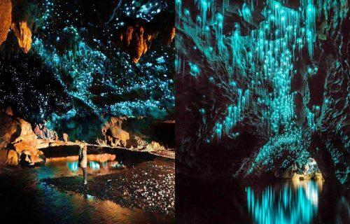 Nestvarna lepota u srcu Novog Zelanda: SVETLUCAVA PEĆINA Vaitomo dokazuje da magija ipak postoji (FOTO)