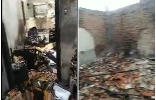 STRAVIČAN POŽAR uništio živote tri porodice u Resavici! Zgrada izgorela do temelja, ostala pustoš (VIDEO)