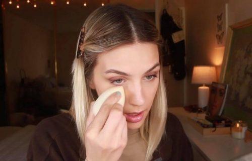 Brzo se rešite PODOČNJAKA: Potrebno je 3 minuta i samo malo šminke da ih POTPUNO prekrijete (VIDEO)