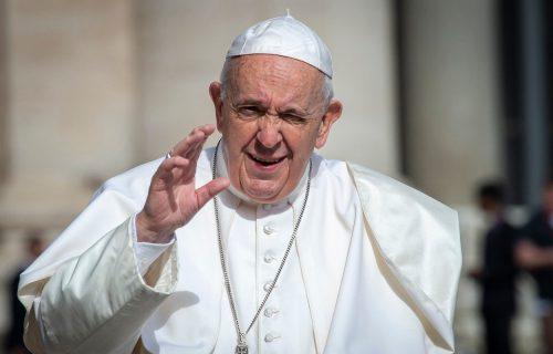 """Papa podržao GEJ BRAKOVE: """"Homoseksualci su božija deca i treba da imaju pravo na porodicu"""""""
