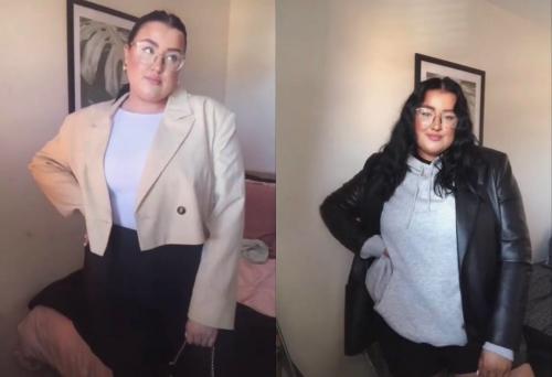 Modna inspiracija za PUNIJE dame: Jesenje kombinacije koje će SAKRITI višak kilograma (VIDEO)