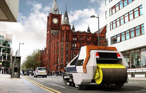 """Robot luta gradom i """"krpi"""" ulice: Britanci najavljuju revoluciju (FOTO)"""