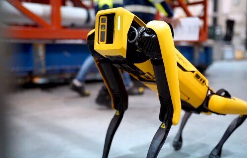 """OPASNA MISIJA: Robot-pas """"njuši"""" radijaciju u Černobilju (VIDEO)"""