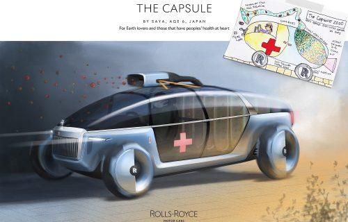Rolls-Royce je tražio da nacrtaju automobile iz snova, a deca su raspametila svet (FOTO)