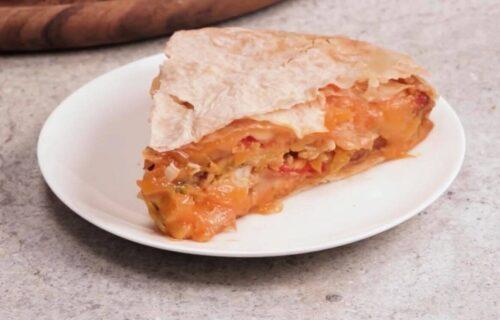 Spremite pravu MEKSIČKU večeru: Piletina sa povrćem i kačkavaljem u tortilji (RECEPT+VIDEO)