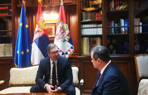 Vučić i Dačić se HITNO sastali: Evo šta je predsednik Srbije poručio!