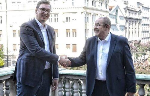 """Vučić se sastao sa Pastorom: """"Odličan razgovor sa prijateljem o budućnosti Srbije"""" (FOTO)"""