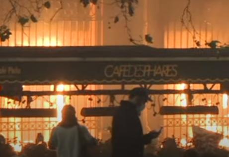 Gori Francuska! Demonstranti ZAPALILI zgradu centralne banke u Parizu (VIDEO)