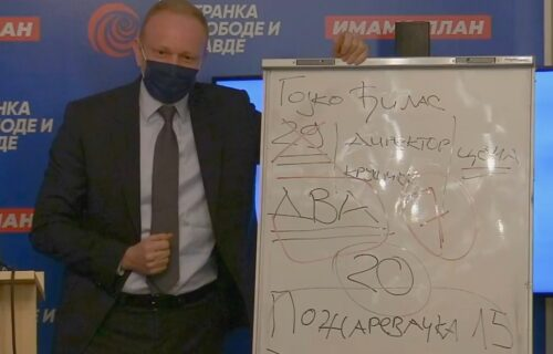 ĐILAS organizovao konferenciju za novinare da bi POBEGAO od novinara! (VIDEO)