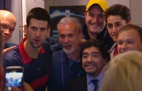 Maradona obožavao Đokovića: O njemu je govorio sa velikim ponosom, a priču o BOMBAMA je stalno pominjao