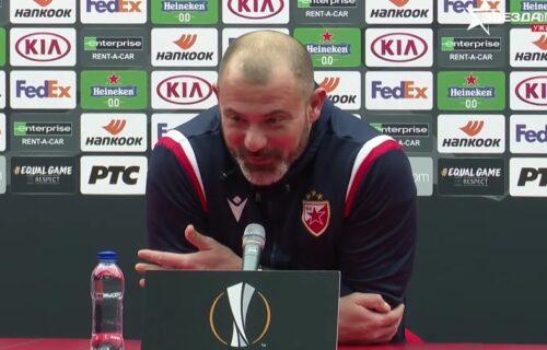 Novinar postavio zanimljivo pitanje Stankoviću, a svi su se NASMEJALI kad su čuli Dekijev odgovor (VIDEO)