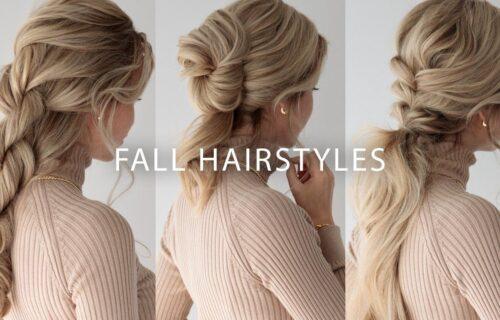 Jednostavne, elegantne i seksi: 3 predloga frizura za jesen i zimu (VIDEO)