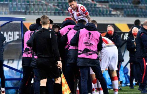 Stigla nagrada za dobru partiju: Fudbaler Crvene zvezde u idealnom timu kola Lige Evrope (FOTO)