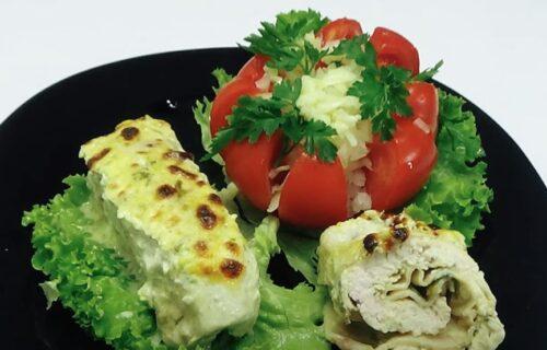 Sočne i ukusne, nestaće u roku od 5 minuta: Pileće rolnice sa sirom i senfom (RECEPT+VIDEO)