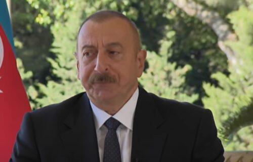 Slade se svojom pobedom: Predsednik Azerbejdžana STIGAO u Nagorno Karabah
