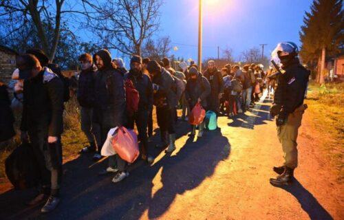 Akcija policije: Pronađeno je oko 450 MIGRANATA u Vršcu i Novom Kneževcu (FOTO)