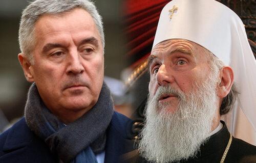Oglasio se Milo Đukanović povodom smrti patrijarha Irineja: Uputio je samo ove TRI REČENICE za SPC
